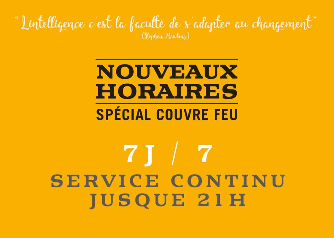 3 braseurs annonce couvre feu horaires
